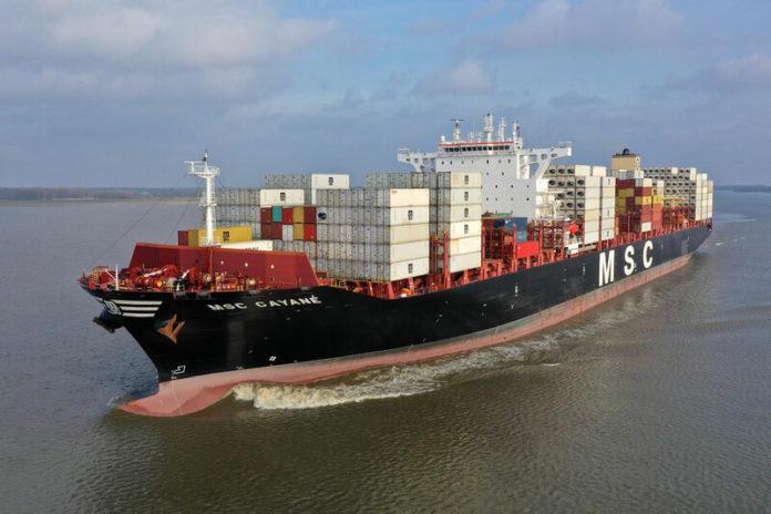 Контейнеровоз MSC Gayane может быть конфискован за контрабанду | The Maritime Telegraph | Морская Правда